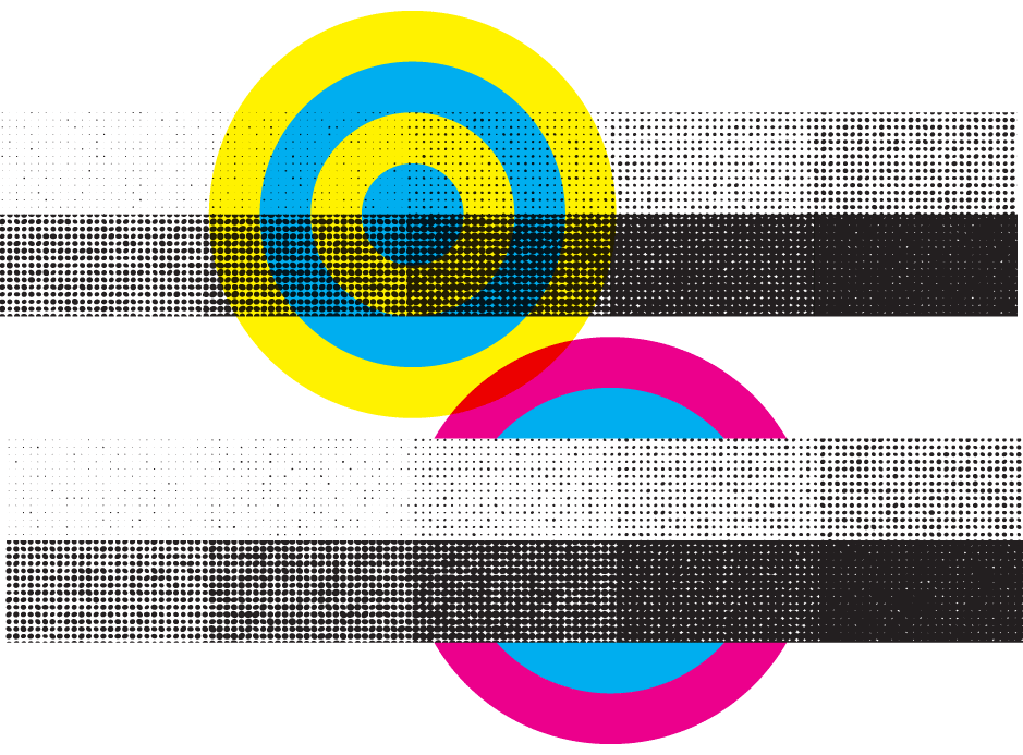 Halftone Illustrator Tint Pack clear and opaque example